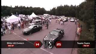 BMW M6 vs Toyota Supra