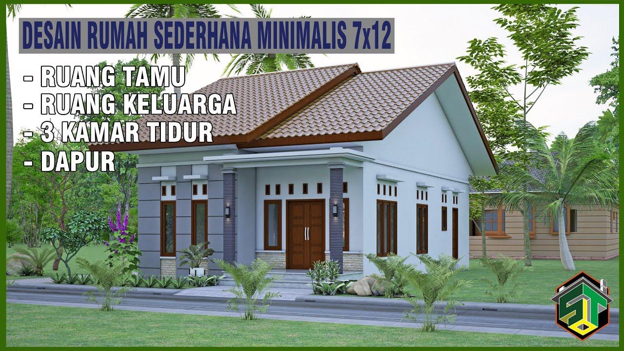 Desain Rumah Sederhana Minimalis 7x12 Youtube