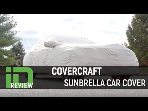 Sky Blue C5755D2 Covercraft Custom Fit Sunbrella Series Car Cover