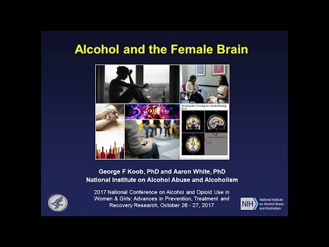 Alcohol and the Female Brain