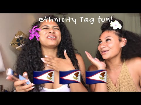 Ethnicity tag (and more) with my cousin | Samoan