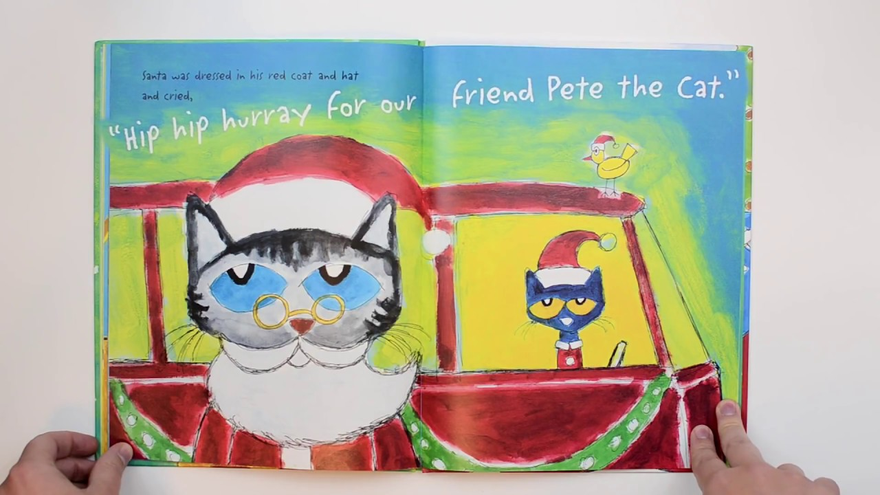 Pete The Cat Saves Christmas.Pete The Cat Saves Christmas By James Dean Books For Kids Read Aloud