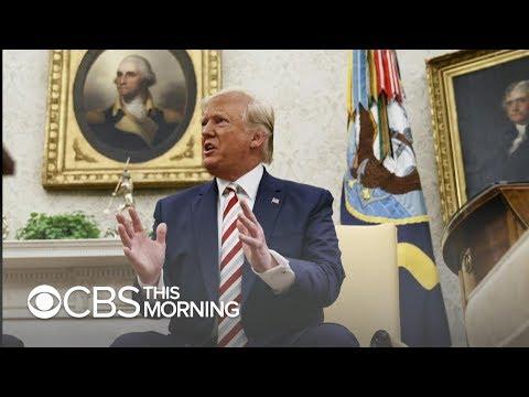 Trump downplays recession