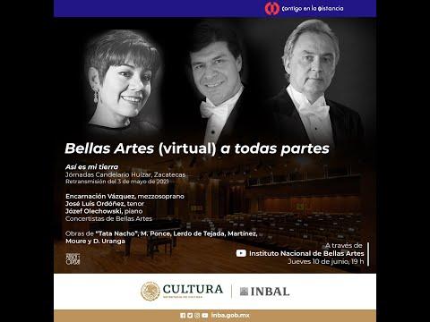 Bellas Artes (virtual) a todas partes / Encarnación Vázquez / José Luis Ordóñez / Józef Olechowski
