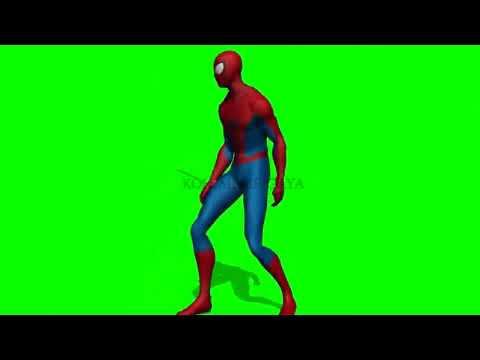 Spiderman dance on Idhar Chala main udhar chala