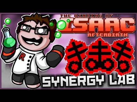 The Binding of Isaac: Afterbirth - Synergy Lab: ULTIMATE BRIMSTONE!