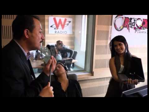 Empezó la hipnosis de Liss Pereira y Santiago Rendón en el Gallo de Radioacktiva