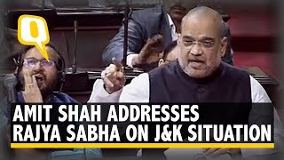 Amit Shah Proposes Abrogation of Article 370, Article 35A in Rajya Sabha