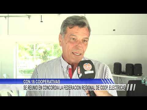 Las Cooperativas Eléctricas de Entre Ríos en Concordia