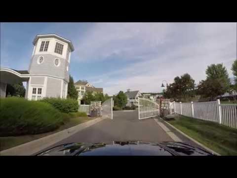 "Driving The ""Peninsula"" Enclave, Bay Harbor, MI"