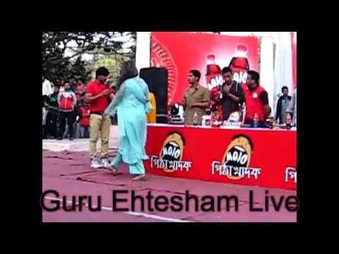 Guru Ehtesham Live On Mojo পিঠা উৎসব Funny Moment