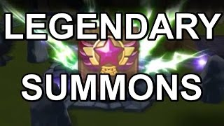 legendary summons summoners war