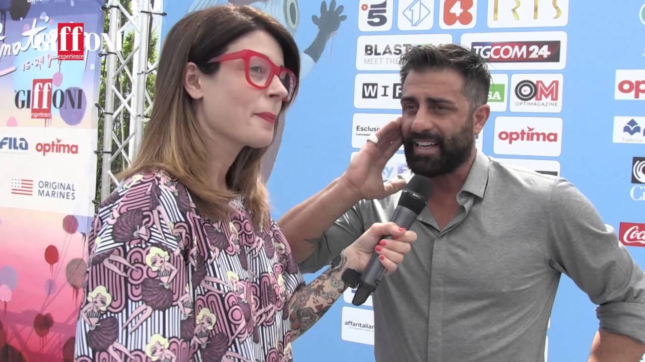 Intervista Simone Montedoro - Giffoni Film Festival