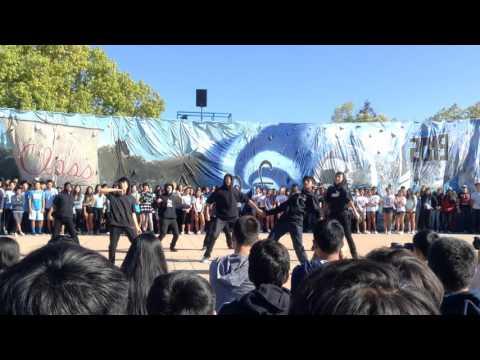 Lynbrook high school class of 2019 freshman homecoming skit 2015-16