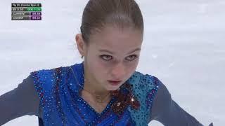 Александра Трусова Alexandra Trusova Чемпионат Европы EC 2020 Произвольная программа