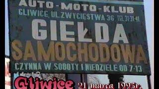 GLIWICE-1993-Giełda samochodowa.