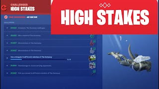 Fortnite | High Stakes Getaway Challenges Event! :)