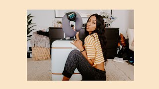 packing 3 weeks of clothes into a carry-on?! | asha bailey