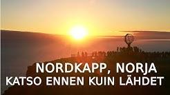 Nordkapp Norja  - Katso ennen kuin lähdet