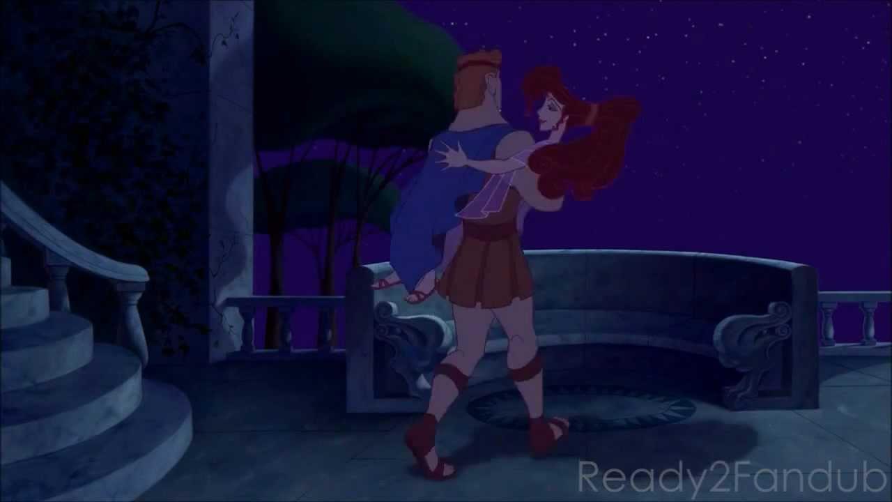 Hercules And Meg Kiss