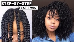 How To | Flat Twist Out  on Natural Hair | Cool Calm Curly
