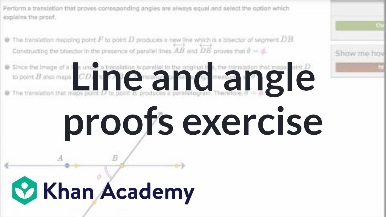Proofs with transformations (video) | Khan Academy
