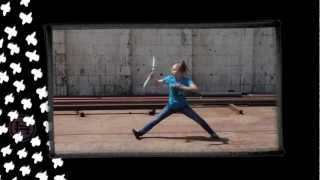Learn Martial Arts: Sammy Smith Double Nunchaku Kicks and Tricks DVD - Hyper Online Training