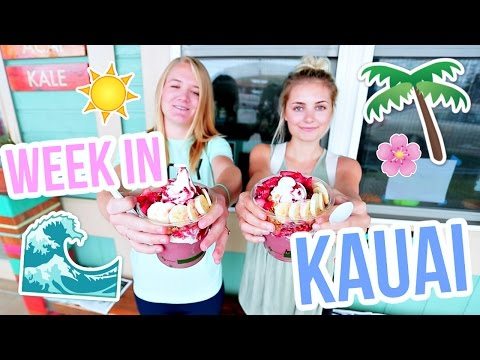 SPENDING A WEEK ON KAUAI IN HAWAII!