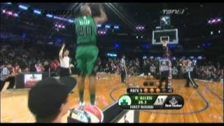 Ray Allen 2011 NBA Three-Point Shootout R1 (20pts)