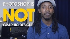 Why Photoshop Is Not Graphic Design