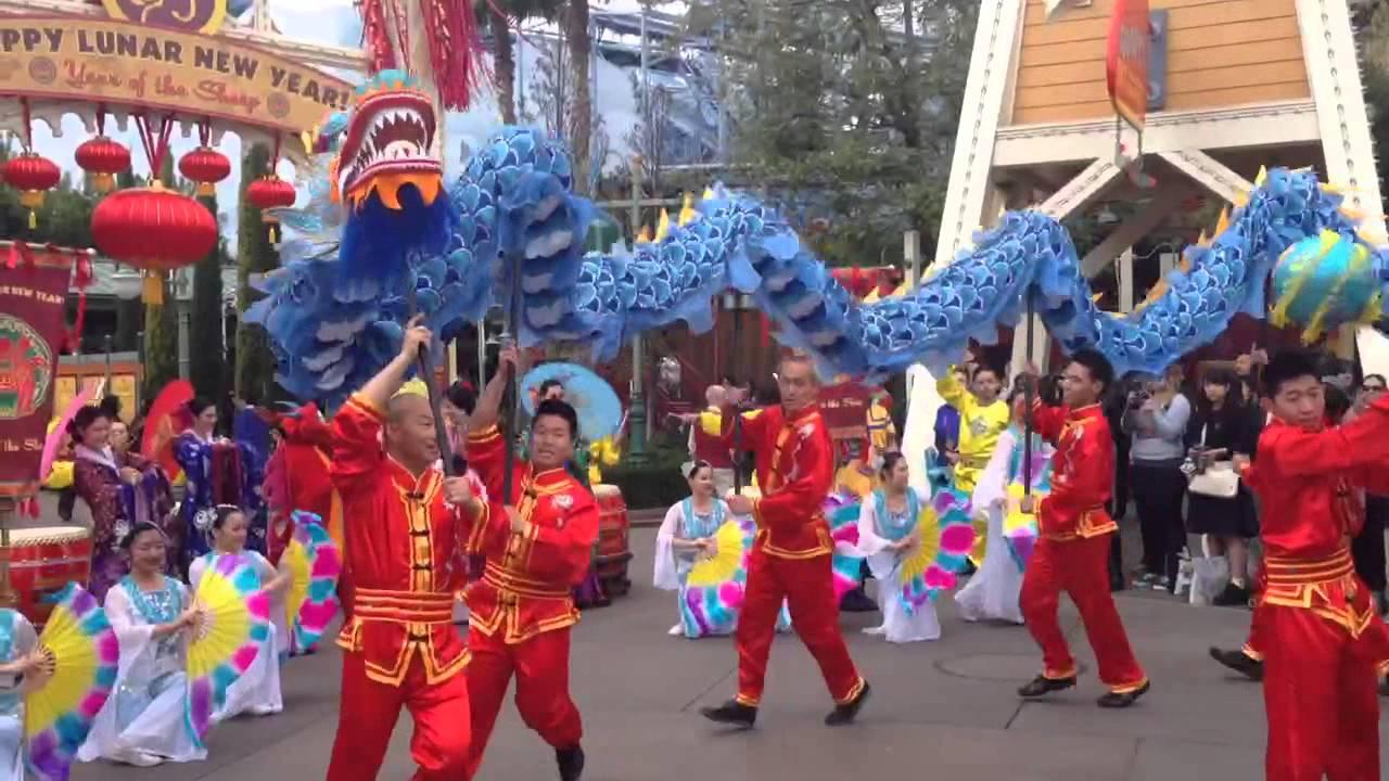 2015 chinese lunar new year disneyland dragon - Chinese Lunar New Year 2015