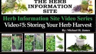 Preserving Your Herb Harvest.mov