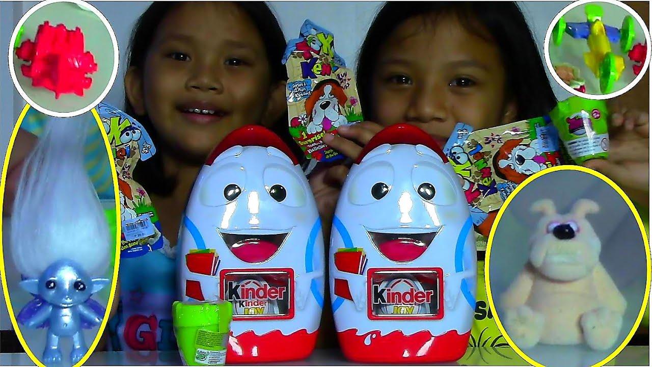 Jos And Toys : Kinder joy surprise eggs zelfs pots koo