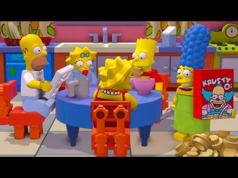 LEGO Dimensions - Simpsons Level Pack All 10 Minikits (TARDIS Secret Area)
