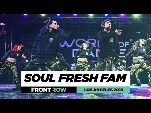 Soul Fresh Fam | FrontRow | World of Dance Los Angeles 2018 | #WODLA18