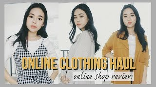 try on clothing haul 2018