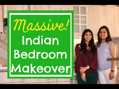 Indian Bedroom Makeover : Home Decor Tips & Ideas : Best Indian Budget Bedroom Makeover 2019