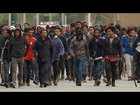 5 migrants shot in mass brawl in Calais, France