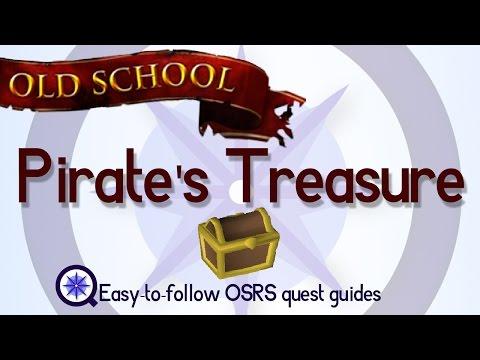 Pirate's Treasure - OSRS 2007 - Easy Old School Runescape Quest Guide