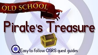 Pirate's Treasure - OSRS 2007 - Easy Old School Runescape Quest Guide