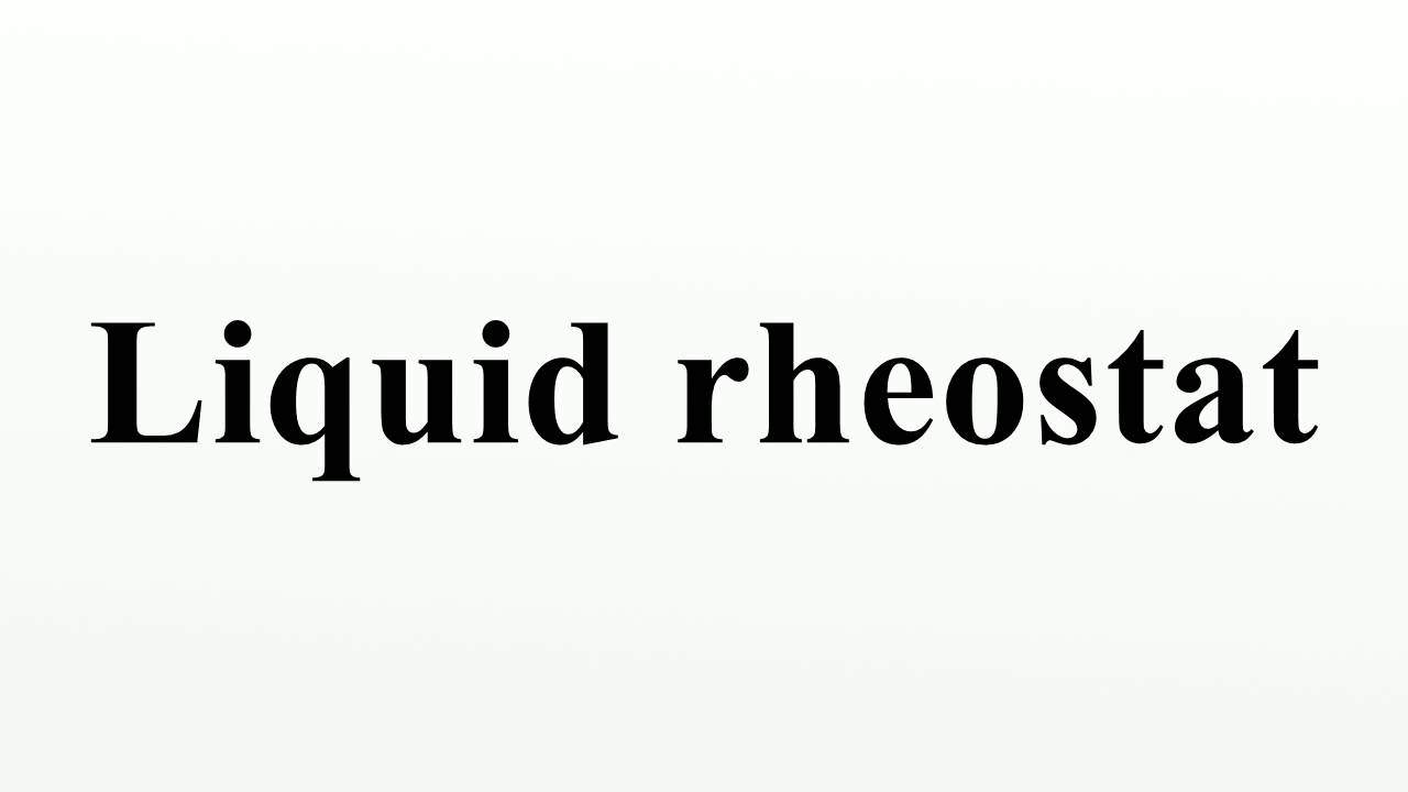 how to make a rheostat
