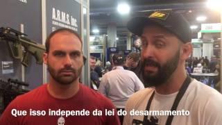Eduardo Bolsonaro fala sobre airsoft e R-105