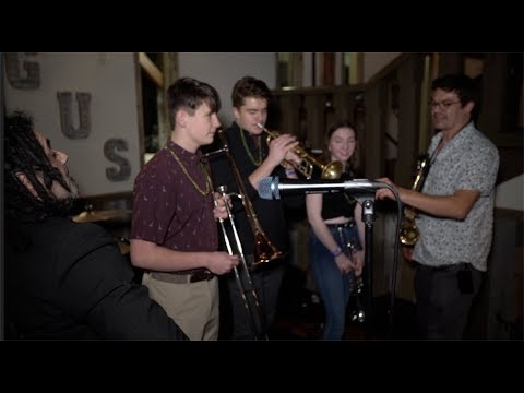 Soul Project NOLA Plays with Incline High School Brass