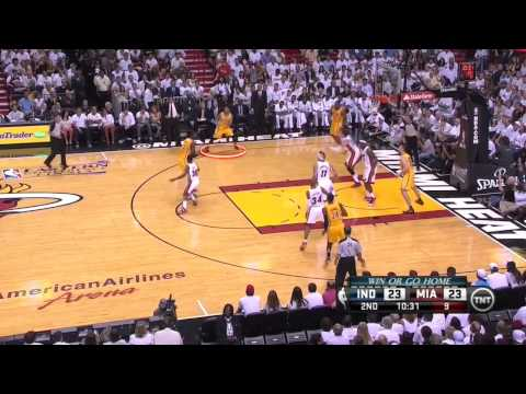 Game 7: The Heat Aggressively Beat The Fumbling Pacers - 2013 Eastern Conference Finals