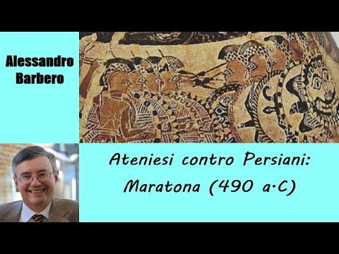 Ateniesi contro Persiani, Maratona (490 a.C.) - di Alessandro Barbero