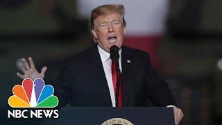 President Donald Trump: 'I Never Got A Thank You' For Late Senator John McCain Funeral | NBC News