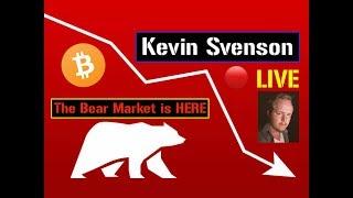 Bitcoin ⤵ Breaks 3.5k! 🔴 LIVE ❄ Crypto Winter ❄