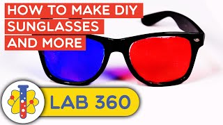 Lab 360 | How To Make DIY Glasses & More Experiments You Can Do At Home | Life Hacks & DIY
