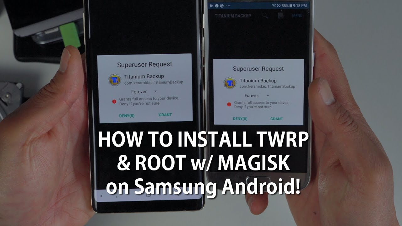 How to Install TWRP & Root w/ Magisk on Samsung Android! [UNIVERSAL METHOD]  [Android Root 101 #2]