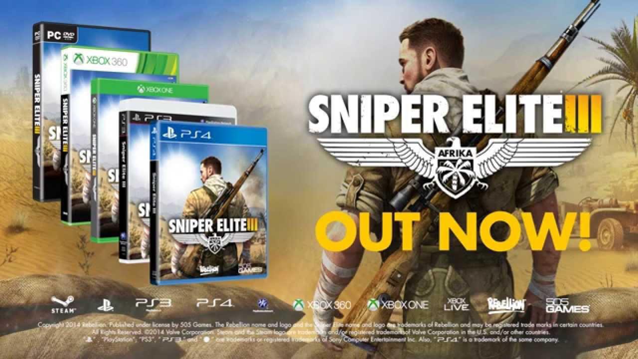 Sniper Elite 3 Official Launch Trailer Youtube